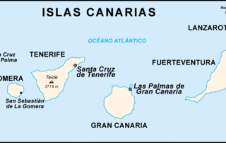 origin of the name of Canary Islands
