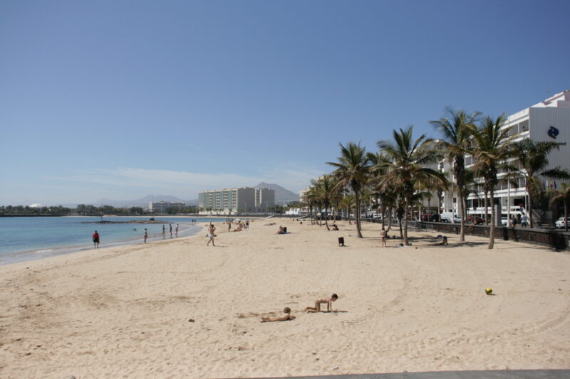 Beaches in Arrecife