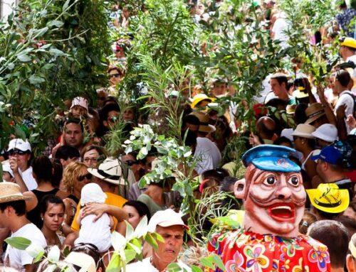 Fiesta de la Rama in Agaete