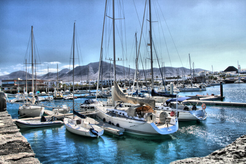 Ports of Lanzarote