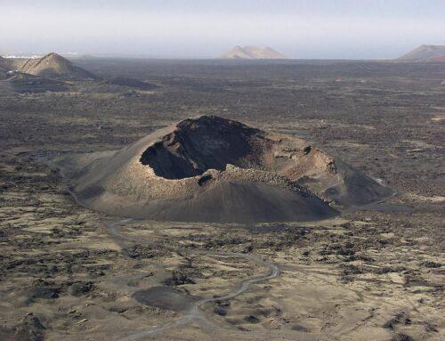 Volcano el Cuervo in Lanzarote