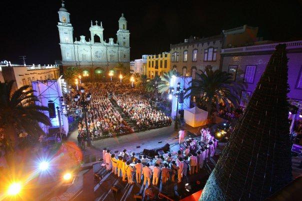 Las Palmas de Gran Canaria at Christmas