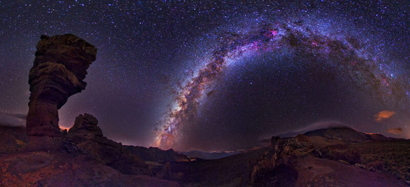 The starry sky of Gran Canaria