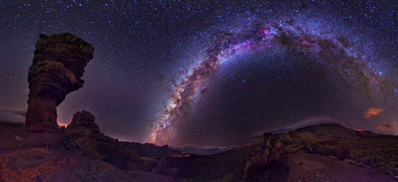 The starry sky of Gran Canaria - cielo estrellado de Gran Canaria